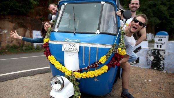 rickshaw team