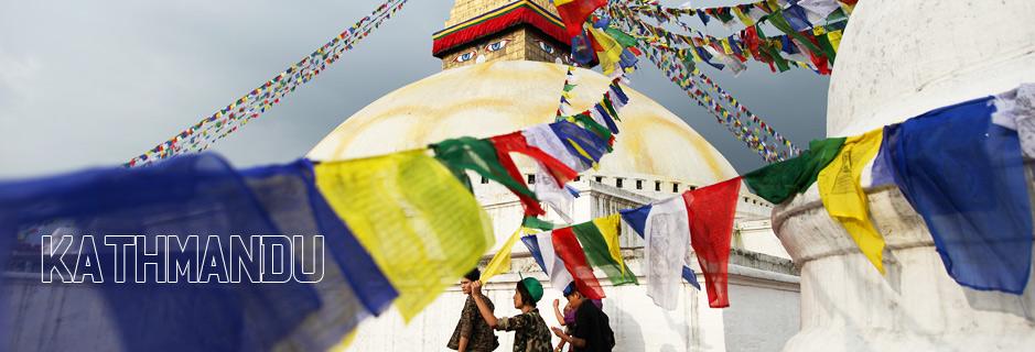 En trek urbain à Kathmandou