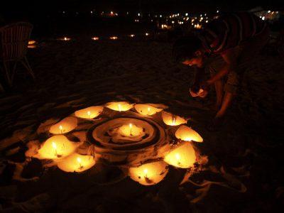 diwali beach