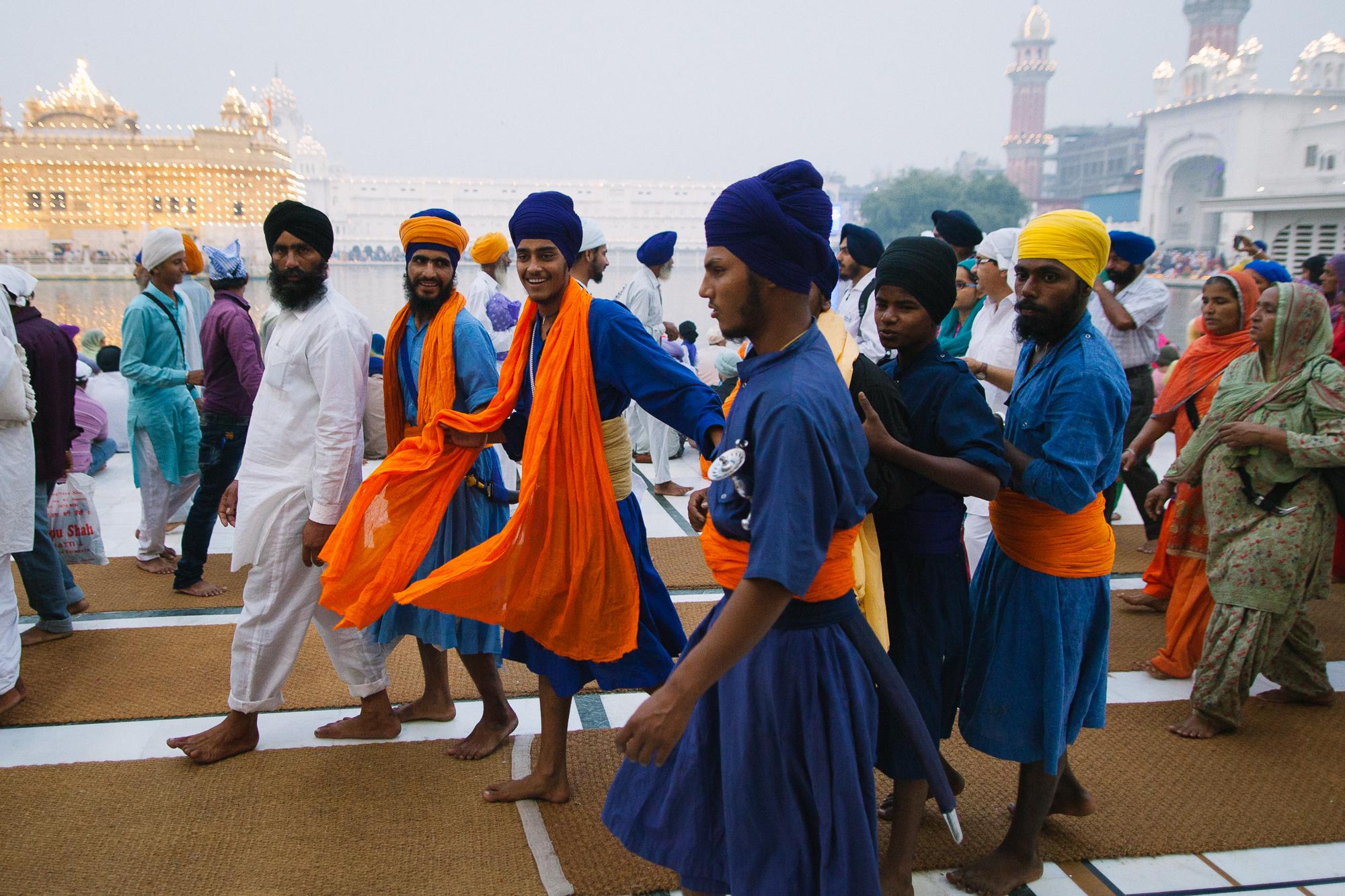 Jeunes Sikhs