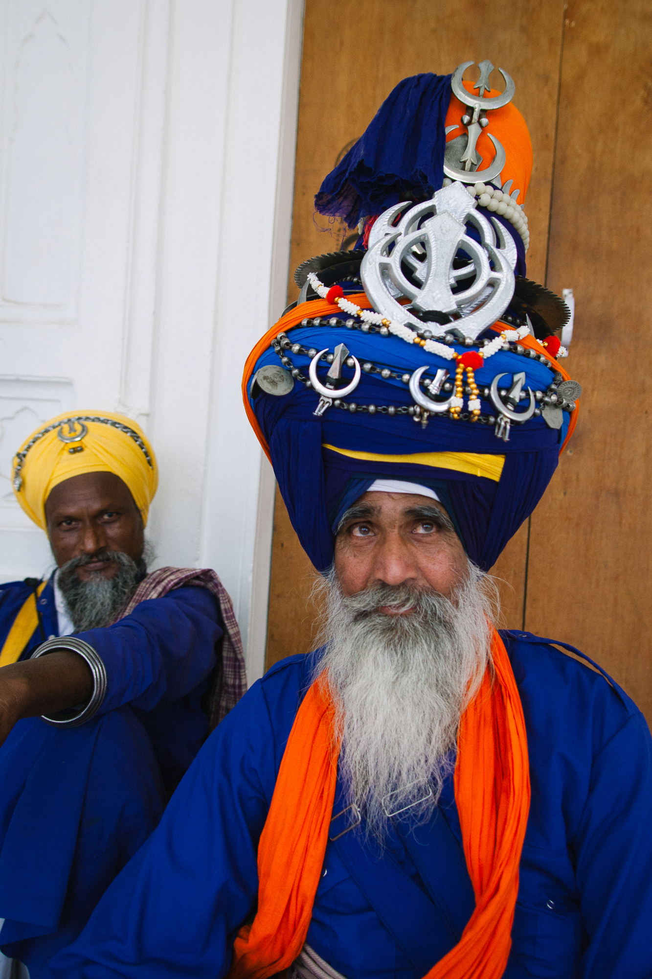 Au concours du plus grand turban....