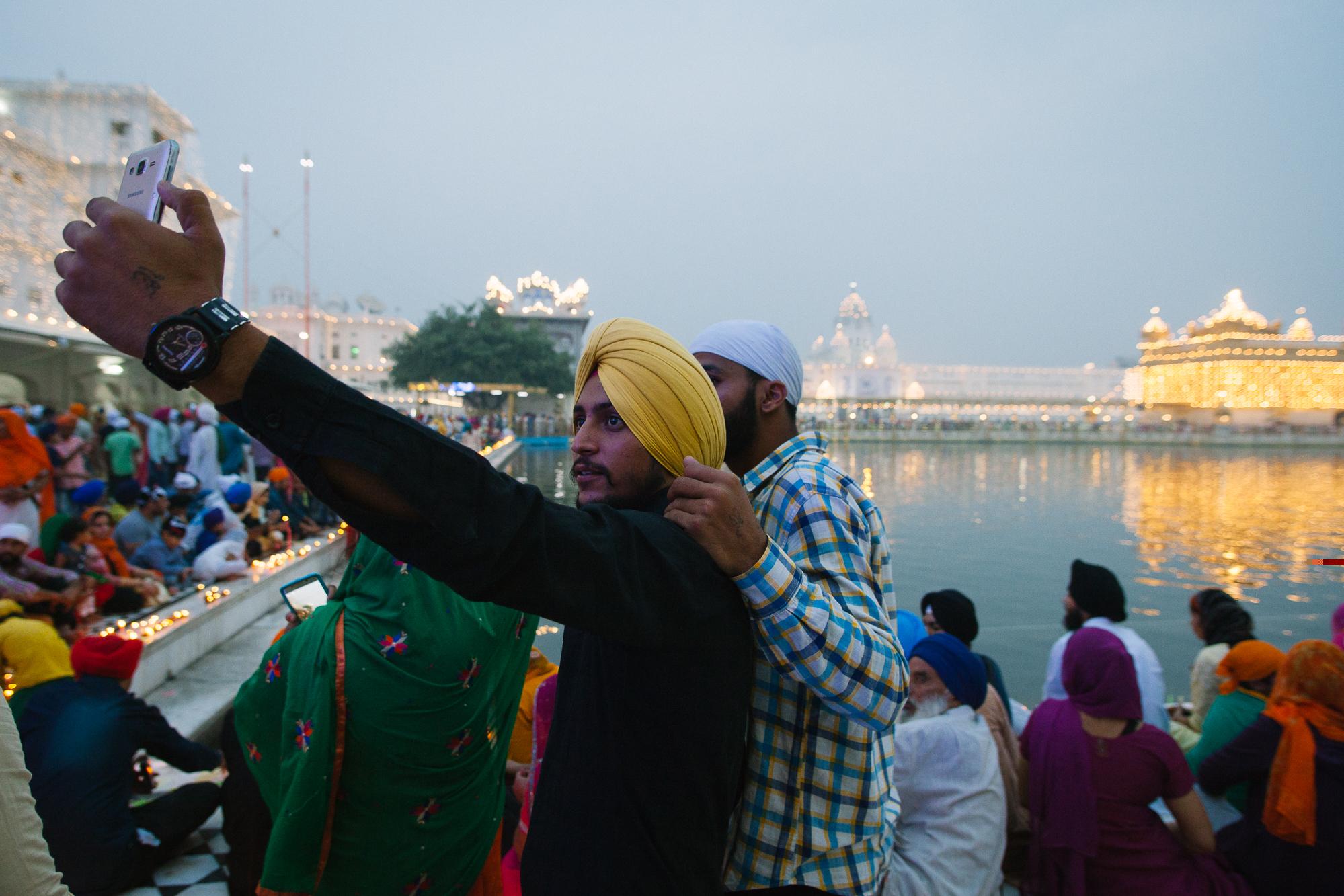 Selfie Sikh