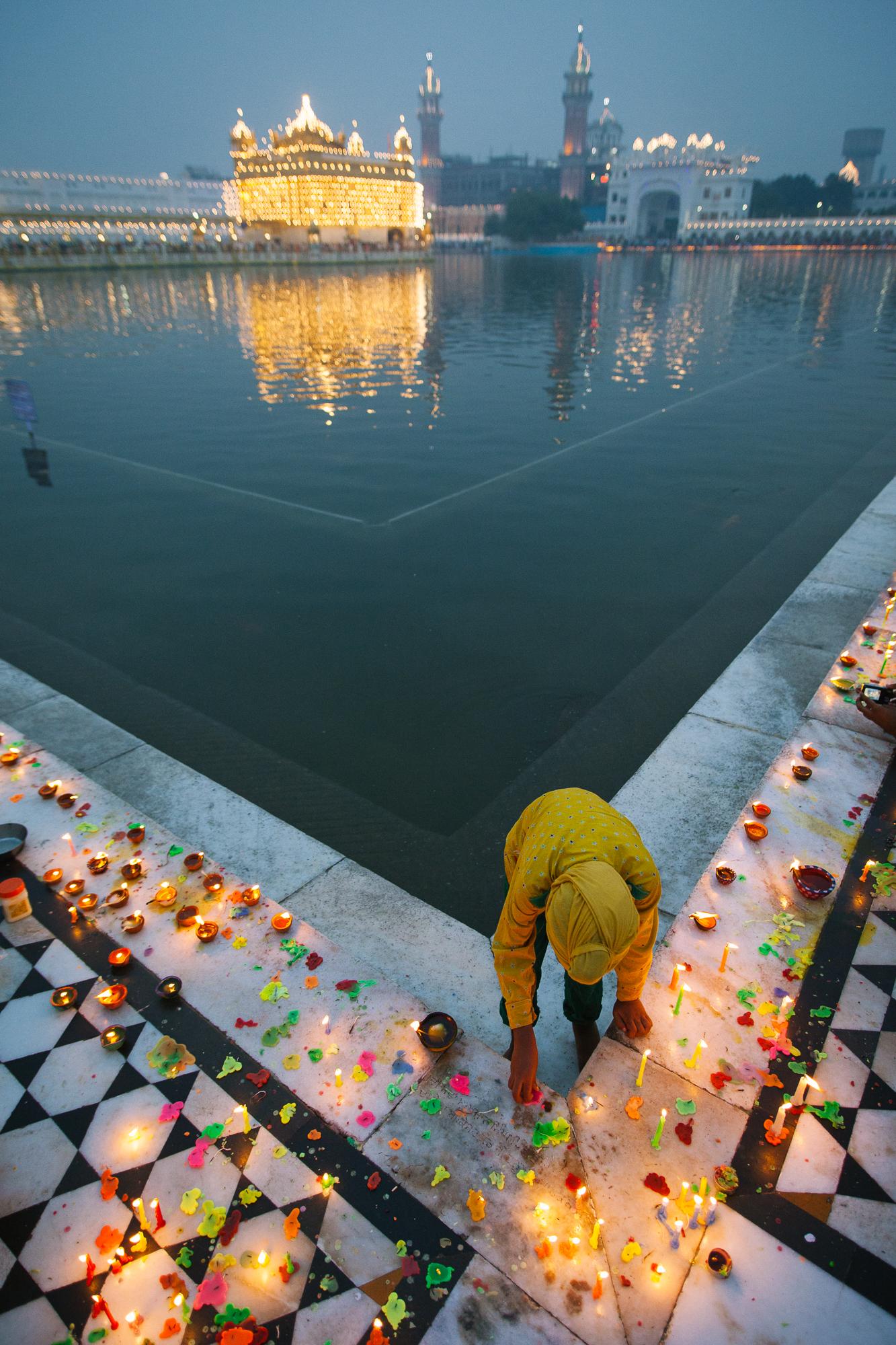 Diwali au Temple d'Or