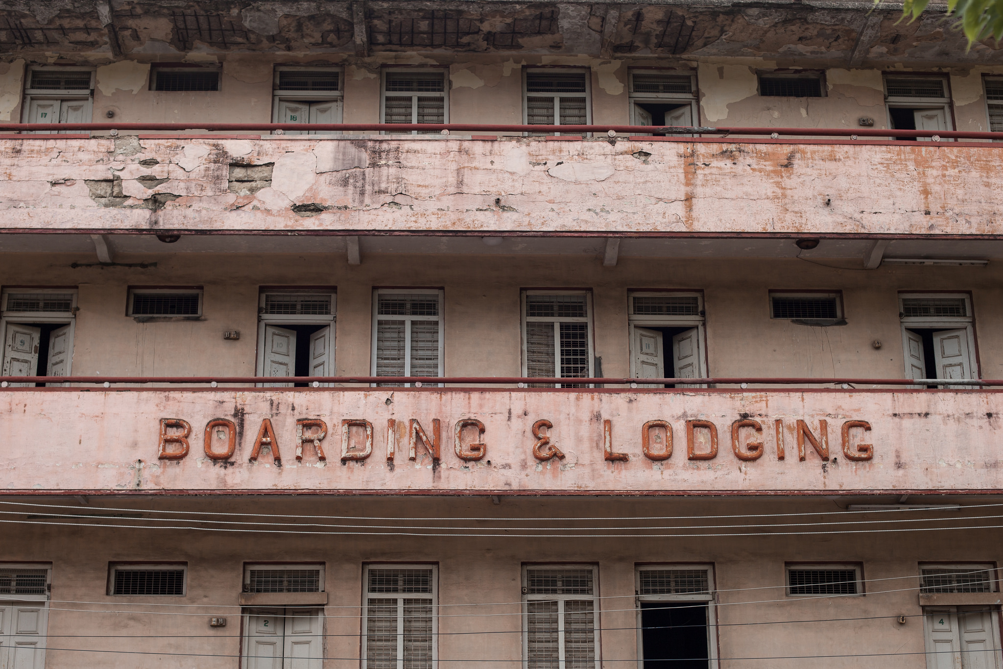 Boarding and lodging