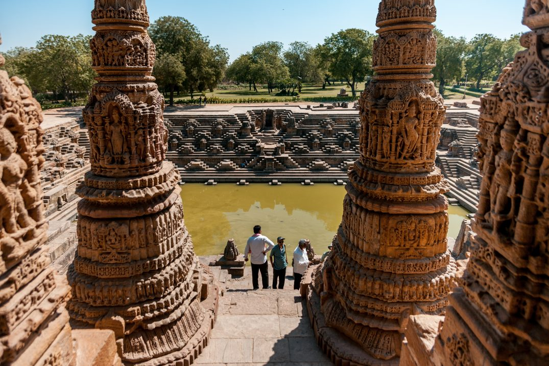 The Modhera water tank
