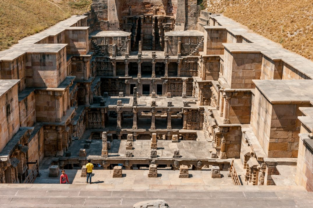 The Rani ki Vav, one of the most elaborated stepwell of India