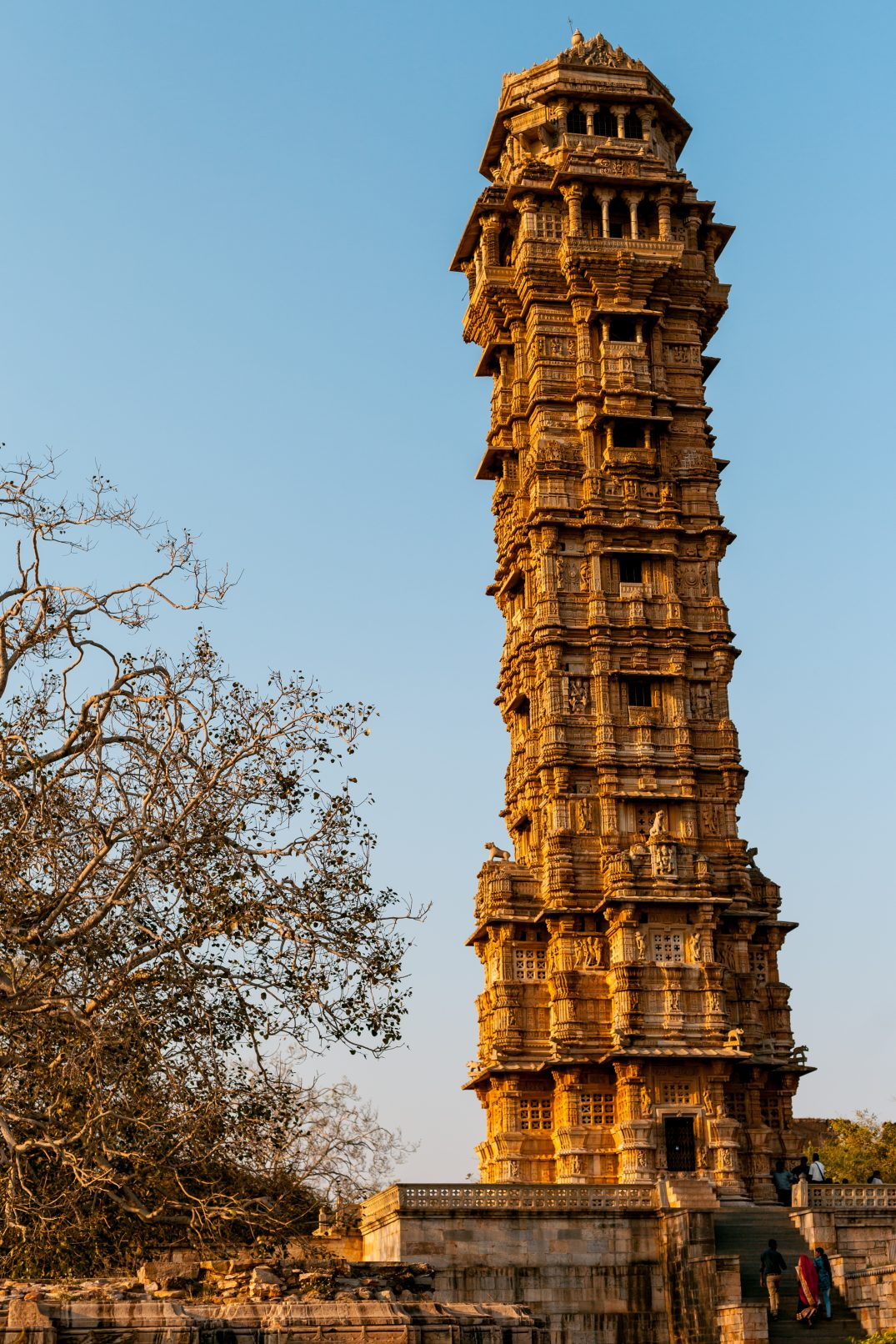 The victory tower of Chittorgarh